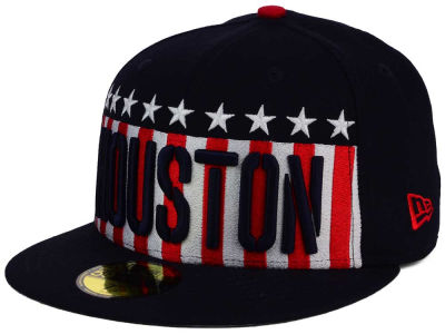 Houston Astros New Era MLB Big USA 59FIFTY Cap