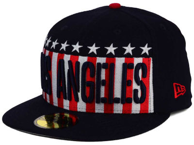 Los Angeles Dodgers New Era MLB Big USA 59FIFTY Cap