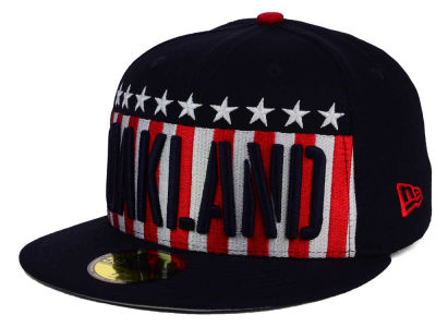 Oakland Athletics New Era MLB Big USA 59FIFTY Cap