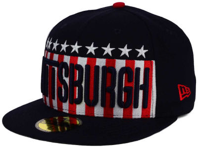 Pittsburgh Pirates New Era MLB Big USA 59FIFTY Cap