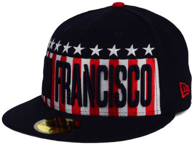 San Francisco Giants New Era MLB Big USA 59FIFTY Cap