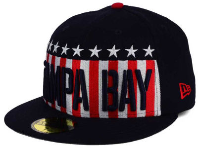 Tampa Bay Rays New Era MLB Big USA 59FIFTY Cap