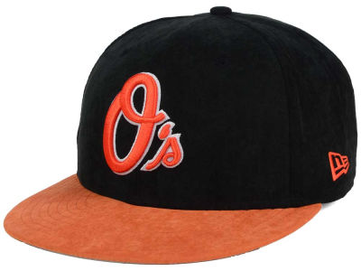 Baltimore Orioles New Era MLB Summer Suede 9FIFTY Snapback Cap