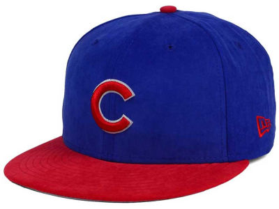 Chicago Cubs New Era MLB Summer Suede 9FIFTY Snapback Cap