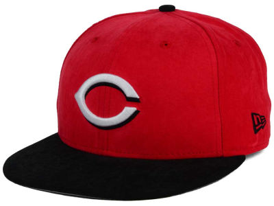 Cincinnati Reds New Era MLB Summer Suede 9FIFTY Snapback Cap