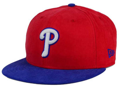 Philadelphia Phillies New Era MLB Summer Suede 9FIFTY Snapback Cap