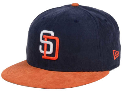 San Diego Padres New Era MLB Summer Suede 9FIFTY Snapback Cap