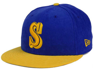 Seattle Mariners New Era MLB Summer Suede 9FIFTY Snapback Cap