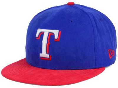 Texas Rangers New Era MLB Summer Suede 9FIFTY Snapback Cap