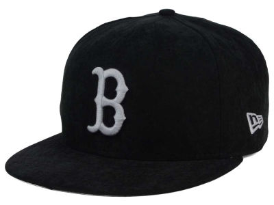 Boston Red Sox New Era MLB Summer Suede 9FIFTY Snapback Cap