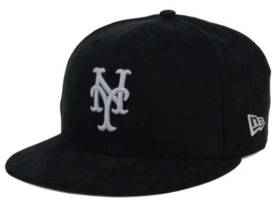 New York Mets New Era MLB Summer Suede 9FIFTY Snapback Cap
