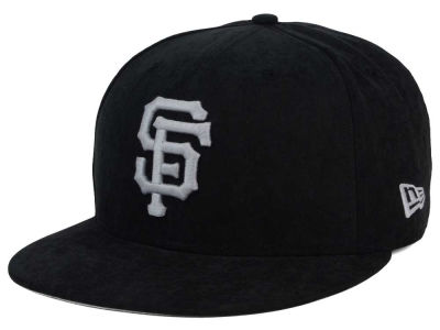 San Francisco Giants New Era MLB Summer Suede 9FIFTY Snapback Cap