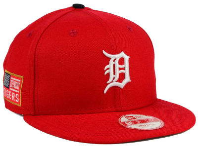 Detroit Tigers New Era MLB All American Patch 9FIFTY Snapback Cap