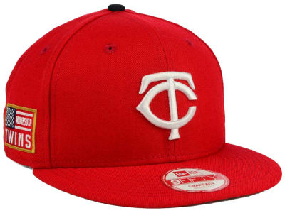 Minnesota Twins New Era MLB All American Patch 9FIFTY Snapback Cap