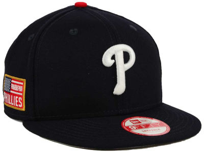 Philadelphia Phillies New Era MLB All American Patch 9FIFTY Snapback Cap