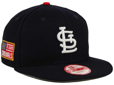 St. Louis Cardinals New Era MLB All American Patch 9FIFTY Snapback Cap