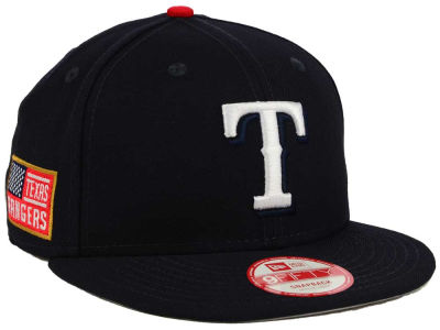 Texas Rangers New Era MLB All American Patch 9FIFTY Snapback Cap