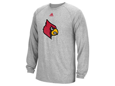 Louisville Cardinals adidas NCAA Men's Sideline Post Long Sleeve Climalite T-Shirt