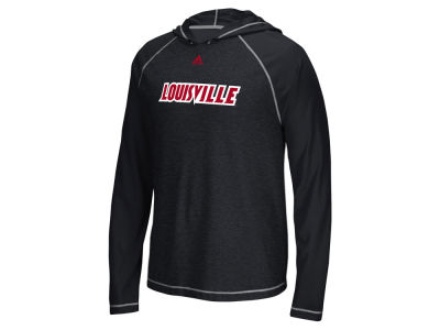 Louisville Cardinals adidas NCAA Men's Mark My Words Ultimate Hooded Long Sleeve T-Shirt ES