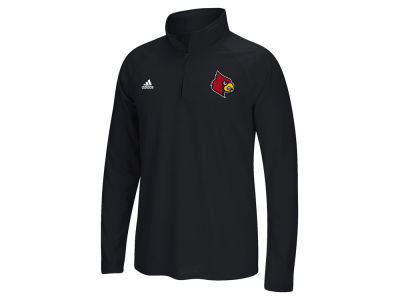 Louisville Cardinals adidas NCAA Men's Primary Screen Ultimate Quarter Zip Pullover ES