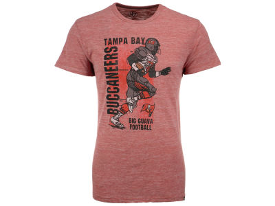 Tampa Bay Buccaneers NFL Men's Running Man Triblend T-Shirt