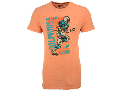 Miami Dolphins '47 NFL Men's Running Man Triblend T-Shirt