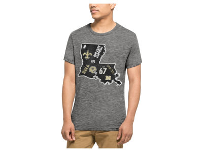 New Orleans Saints '47 NFL Men's Home State Triblend T-Shirt