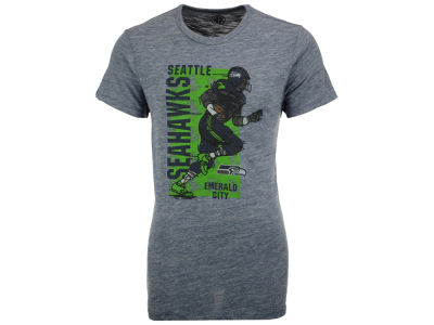 Seattle Seahawks '47 NFL Men's Running Man Triblend T-Shirt