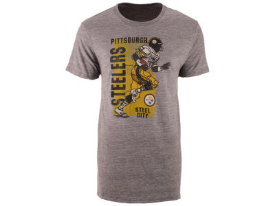 Pittsburgh Steelers '47 NFL Men's Running Man Triblend T-Shirt