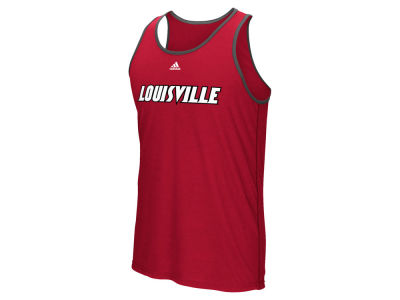 Louisville Cardinals adidas NCAA Men's Team Font Ultimate Ringer Tank ES