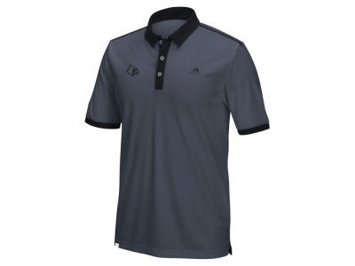Louisville Cardinals adidas NCAA Men's TMAG Climachill Bonded Shoulder Polo ES