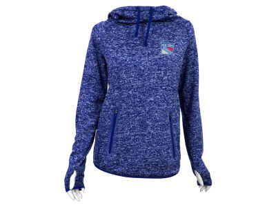 New York Rangers Antigua NHL Women's Recruit Pullover Hoodie