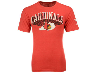 Louisville Cardinals adidas NCAA Originals Location Triblend Short Sleeves T-Shirt