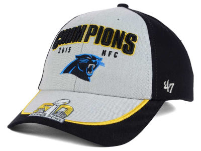 Carolina Panthers '47 NFL Super Bowl 50 NFC Conference Champ Cap