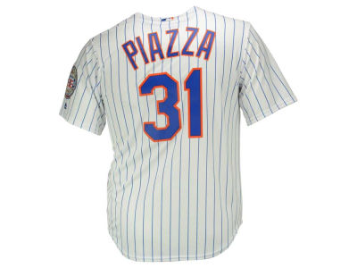 New York Mets Mike Piazza MLB Men's Hall Of Fame Patch CB Jersey