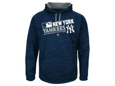 New York Yankees MLB Men's AC Team Choice ES Fleece Hoodie