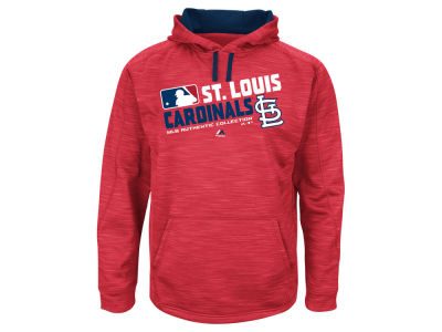 St. Louis Cardinals MLB Men's AC Team Choice ES Fleece Hoodie