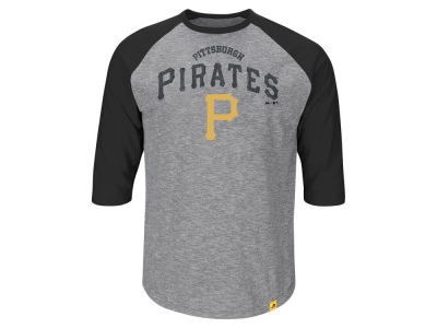 Pittsburgh Pirates MLB Men's Fast Win Raglan T-Shirt ES