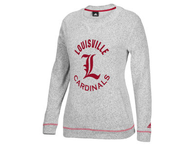 Louisville Cardinals adidas NCAA Women's Slouchy Crew Fleece