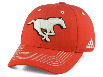 Calgary Stampeders adidas CFL Coaches Flex Structured Cap