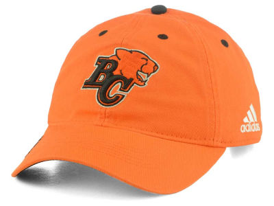 BC Lions adidas CFL Coaches Adjustable Slouch Washed Cap