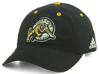 Hamilton Tiger-Cats adidas CFL Coaches Adjustable Slouch Washed Cap