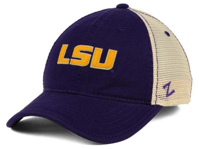 LSU Tigers Zephyr NCAA Summertime Mesh Adjustable Hat