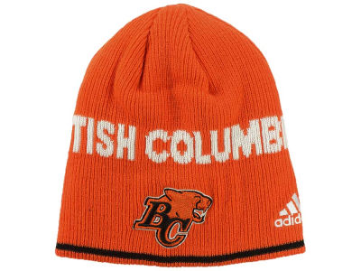 BC Lions adidas CFL 2016 Sideline Beanie Knit