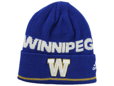 Winnipeg Blue Bombers adidas CFL 2016 Coaches Cuffed Beanie