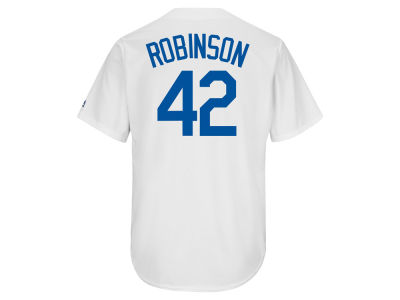 Los Angeles Dodgers Jackie Robinson MLB Mens Coop Player Replica ES CB Jersey
