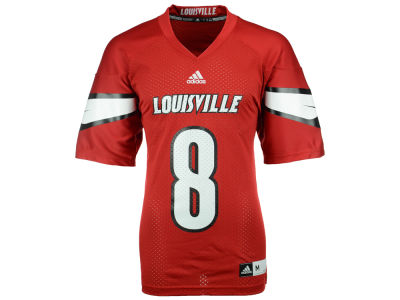 Louisville Cardinals adidas NCAA Men's Replica Home Football Jersey