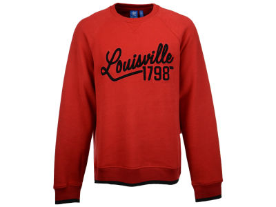 Louisville Cardinals adidas NCAA Men's Originals Crew Est Date Sweatshirt