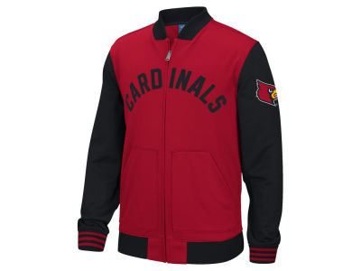 Louisville Cardinals adidas NCAA Men's Originals Track Jacket Arch Mascot
