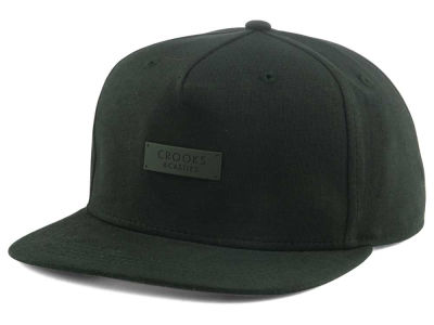 Crooks & Castles Metal Badge Snapback Cap